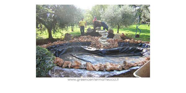 Laghetti realizzazione e costruzione di laghetti for Accessori per laghetti artificiali